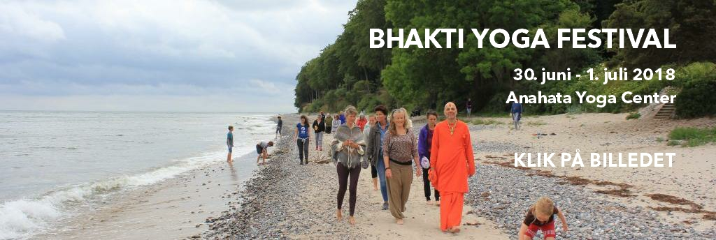 Bhakti Yoga Festival banner